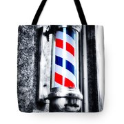 The Barber Pole Tote Bag