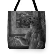 The Bare Wall Tote Bag