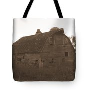 The Barn 3 B/w Tote Bag