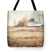 The Barn On The Hill Tote Bag