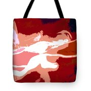 The Baseball Pitcher Tote Bag by David Lee Thompson