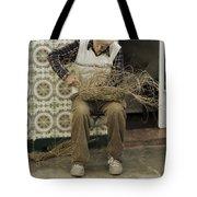 The Basket Maker Tote Bag