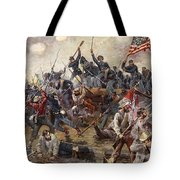 The Battle Of Spotsylvania Tote Bag by Henry Alexander Ogden