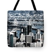 The Bay Bridge Tote Bag