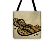 The Beach Is The Music Tote Bag