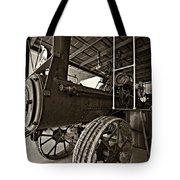 The Beast Sepia Tote Bag