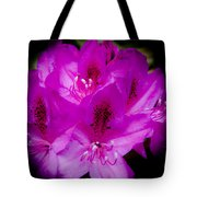 The Beautiful Rhododendron Tote Bag