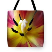 The Beauty From Inside Square Format Tote Bag