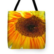 The Beauty Of A Sunflower Tote Bag