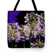 The Beauty Of Flowering Garlic Tote Bag