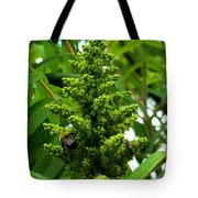 The Bee Chases The Fly? Tote Bag