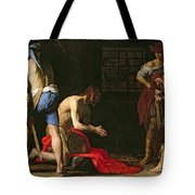 The Beheading Of John The Baptist Tote Bag