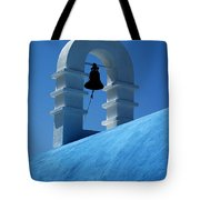 The Bell Tower In Mykonos Tote Bag