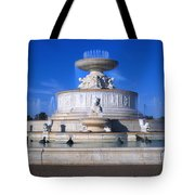 The Belle Isle Scott Fountain Tote Bag by Gordon Dean II
