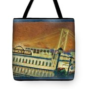 The Belle Of San Francisco Tote Bag