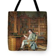 The Bibliophile Tote Bag