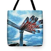 The Biggest Car Park In The World Tote Bag