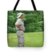 The Birdwatcher Tote Bag by Paul Ward