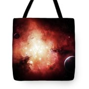 The Birth Of Numerous Stars Exposing Tote Bag