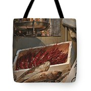 The Blessed Fish Market Tote Bag