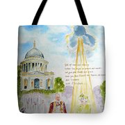 The Blessed Queen Tote Bag