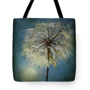 The Blowing Sun Tote Bag