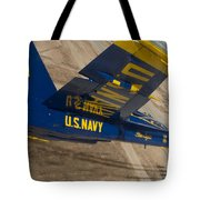 The Blue Angels Perform Over El Centro Tote Bag