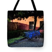 The Blue Cart Tote Bag