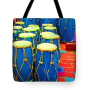 The Blue Drums Tote Bag