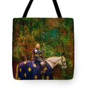 The Blue Knight  Tote Bag