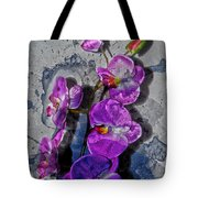 The Blue Orchid  Tote Bag