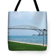 The Blue Water Bridge  Tote Bag