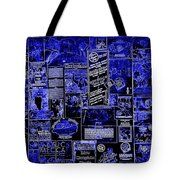 The Blues In Memphis Tote Bag by Carol Groenen