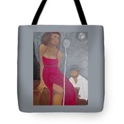 The Blues Singer Tote Bag