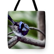 The Bluest Of Blue Tote Bag
