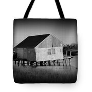 The Boathouse With Texture Tote Bag