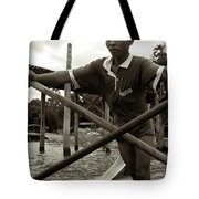 The Boatman Of The Lake Taungthaman - 2 Tote Bag