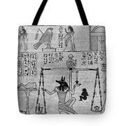 The Book Of The Dead Tote Bag