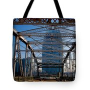 The Bridge In Nashville Tote Bag