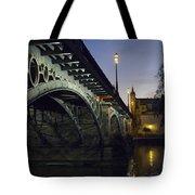 The Bridge Of Triana, Puente De Triana Tote Bag