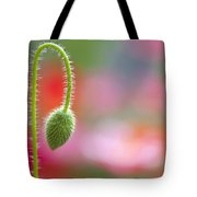 The Bud Of A Wildflower In Columbia Tote Bag