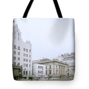 The Bund In Shanghai In China Tote Bag