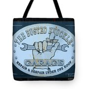 The Busted Knuckle Tote Bag