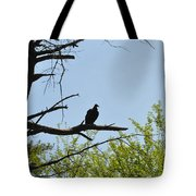 The Buzzard Is Two Faced Tote Bag
