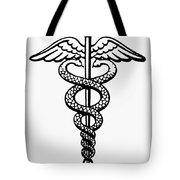 The Caduceus Tote Bag