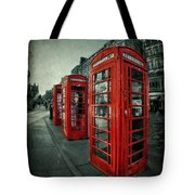 The Call Of Yesteryear Tote Bag