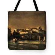 The Canal Venice Tote Bag