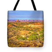 The Canyon In The Distance Tote Bag