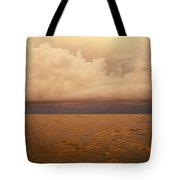 The Caribbean Sea Reflects The Sunset Tote Bag