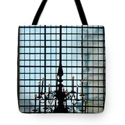 The Cathedral Chandelier  Tote Bag